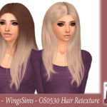 mikerashi's M-Shi – WingsSims – OS0530 Hair Retexture (Mesh Needed)