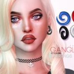 Pralinesims' Ganglen Earrings