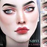 Pralinesims' Sibyl Eyeliner + Lashes N69