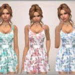 SweetDreamsZzzzz's Floral Print Dress