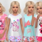 SweetDreamsZzzzz's Girls Summer Sleepwear