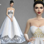 Colores Urbanos' Wedding Dress 7 RECOLOR 3 (Needs mesh)