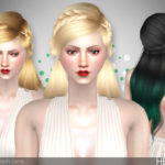 TsminhSims' Heaven ( Hair 33 )