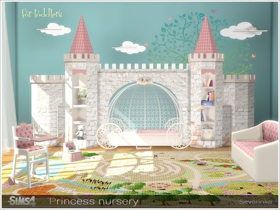 Severinka S Princess Nursery Sims 4 Updates Sims 4