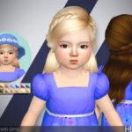 TsminhSims' Heaven ( Hair 33 – toddler )