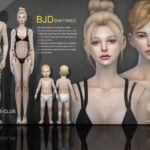 S-Club WMLL ts4 BJD2.0 skin ALL AGE