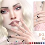 Pralinesims' Jelly Nails N19