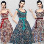Colores Urbanos' Romi dress RECOLOR 4 (Needs mesh)