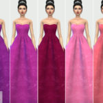 Colores Urbanos' Wedding Dress 7 RECOLOR 1 (Needs mesh)