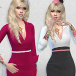 Colores Urbanos' Set Blouse / Skirt (original mesh)