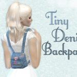 CottonCandyHeart.'s Tiny Denim Backpack