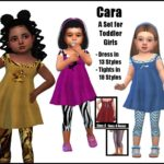 Cara -A Set for Toddler Girls-