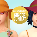 ♡ GINGER SUN HAT ♡