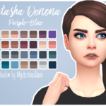 Mysterious Dane Natasha Denona Purple-Blue Eyeshadow Palette