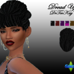 Something new for you! Download at TSR Dread updo – Sim Culture Nation