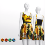 Rusty's — Sunflower Dress by DOLCE & GABBANA 5 Color…