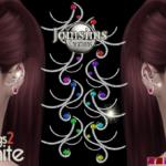 Stamanite 2 boucles d'oreilles sims 4. pour elle…. – jomsimscreations.fr