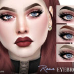 Pralinesims' Rana Eyebrows N115