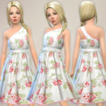 lillka's Rose Print Dress for Girls