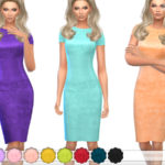 ekinege's Lace Pencil Dress