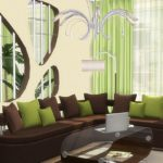 "Corporation ""SimsStroy"": The Sims 4. Set furniture living ""Elegant""."