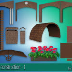 "Corporation ""SimsStroy"": The Sims 4. Set for construction – 1."