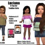 Luciana -Original Content- | Sims 4 Nexus
