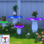 Simista A little sims 4 blog : Mushroom Outdoor Setting