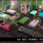Enure Sims: Ea Bed Frames Toddler Size