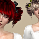 Jennisims: Downloads sims 4:Newsea Mitsuki Hair retexture