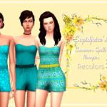 Summer Spells Romper Recolors: