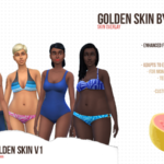 GOLDEN SKIN V1 by Guavaa
