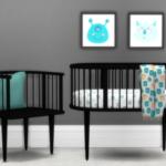 GreenGirl100 | Heyden Nursery Crib (7982 Polys) Blanket (3696 …