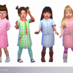 ☂ Babubii – Pinny House ☂ — Mayu ♥ Shirt dress Toddler 18 Swatches […