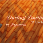 Sims, spice and everything nice | Darling Darling – 21 swatches of flooring …