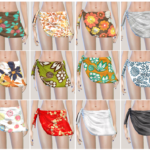 sims3 & 4 CC korea — hi~guys~! This is underwear. There's only…