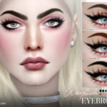 Pralinesims' Weylish Eyebrows N117