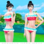 iCedxLemonAde's Watermelon Ruffle Bikini
