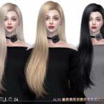 S-Club's sclub ts4 hair Alin n24