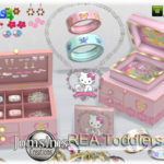 jomsims' Rea toddlers deco jewelry box and clutters
