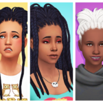 Simtric June, July and May recoloured – ddeathflower