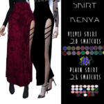 KENYA SKIRT | BlueRose-Sims