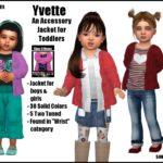 Yvette -Original Content- | Sims 4 Nexus