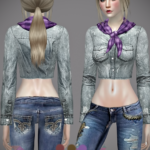 Jennisims: Downloads sims 4:Base Game compatible Accessory Scarves
