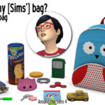 Around the Sims 4 | Custom Content Download | Handbag clutter
