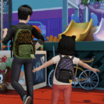 Sims 4 The Last of Us Ellie Backpack Accessory | dreamteamsims