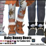 Baby Bunny Boots -For Toddler Girls-