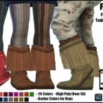 Frill Boots -For Toddlers