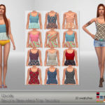 Qvoix Beatrix Sleeveless Top Recolor It's a… – E L F D O R