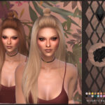 DarkoSims3 / NIGHTCRAWLER | NEW HAIR MESH T/E Smooth bone assignment All lods…